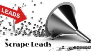 Scrape leads